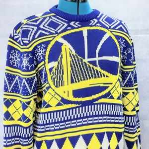 NBA Golden State Warriors Ugly Christmas Sweater